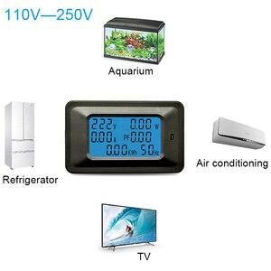 Image 5 - AC22KW 110~250V 100A Digital Voltage Power Energy Voltmeter Ammeter Meters Indicator Current Amps Volt Wattmeter Tester Detector