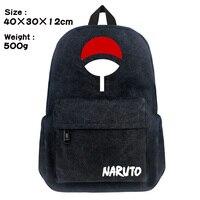 Anime Naruto Backpack Hokage Chirldren School Bags Man Women Printing Canvas Casual Backpack Travel Backpacks Mochila