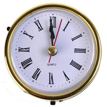 2019 High Quality Vintage Black Metal Art Table Clock With Lighting Watch Desktop Clock Accessories Hot Sale(China)