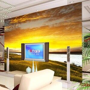 Papel de pared beibehang, papel tapiz de Gran mural, Fondo de TV estereoscópico, video 3D, papel tapiz sin costuras