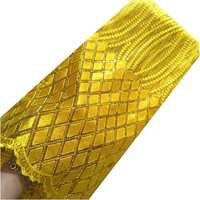 Net swiss lace chinese market online african lace fabric 2017 sequins yellow red gold white high quality lace fabric
