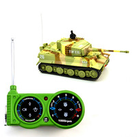 2017 New Brand Remote control Tank Classic R/C Radio Remote Control Tiger RC Tank Model For Children Gifts Free Shipping without