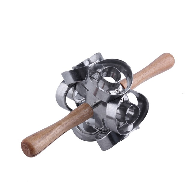 OUTAD 1PC Revolving Donut Cutter Maker Molding metal