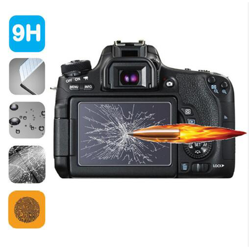 Ultra Thin Real Glass LCD Film Screen Protector for Olympus E-PL7 E-M1 E-M10 E-P5 Camera