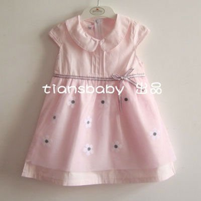 27e0beeb8c13b HOT!!! Free shipping wholesale 2012 new design 6pcs/lot baby girl dress,princess  dress children kids clothing sets,baby frock