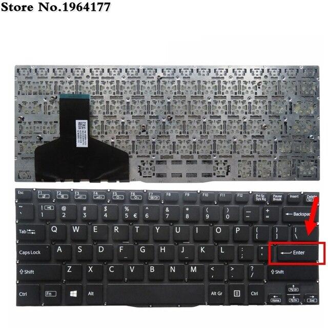 NUOVA Tastiera DEGLI STATI UNITI PER Sony 13 13N SVF13 SVF13A SVF13N SVF13N100C SVF13N17 SVF13N18 SVF13NA1QT Inglese tastiera del computer portatile NERO GZEELE2 Store