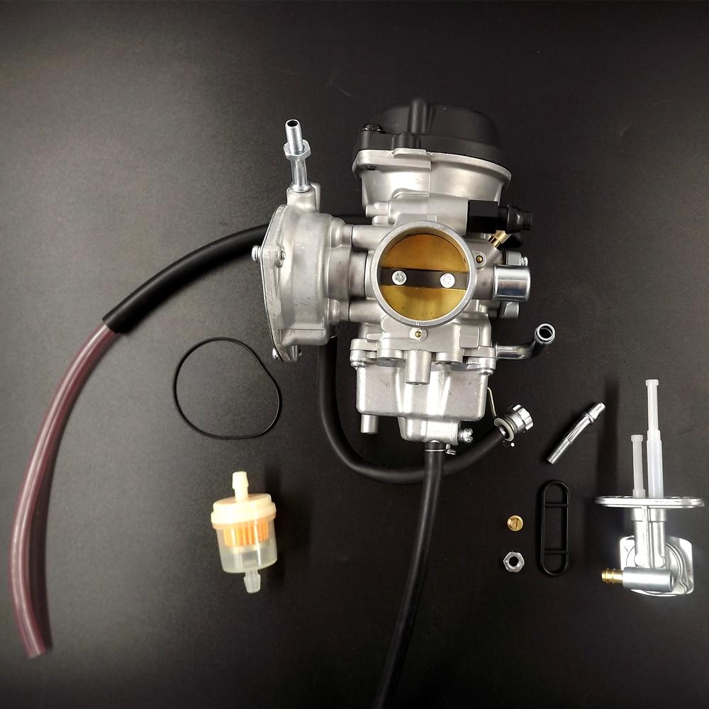 new carburetor for suzuki ltz400 ltz 400 quad atv with. Black Bedroom Furniture Sets. Home Design Ideas