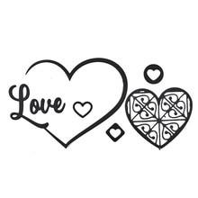 Naifumodo Love Heart Metal Cutting Dies New 2019 for Craft Scrapbooking Letter Card Making DIY Embossing Die Cut Decor