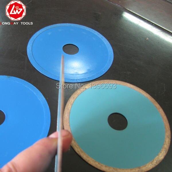 Gratuito! Disco da taglio diamantato 80x5x20mm per tubo di vetro - Lama per sega - Fotografia 5