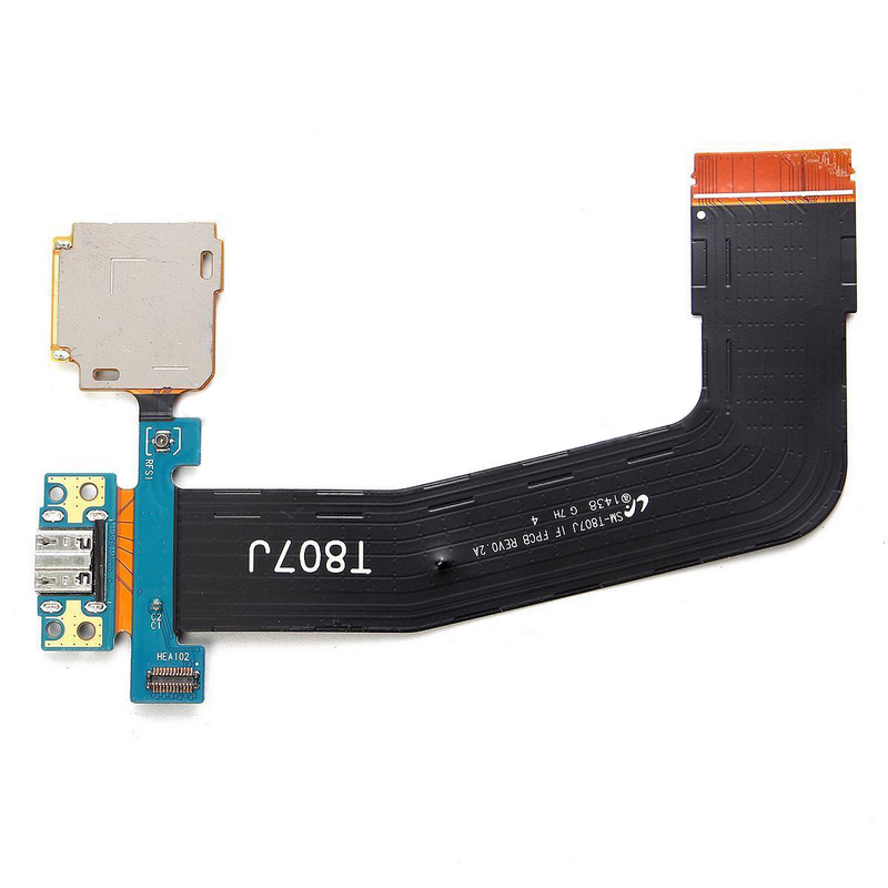 Micro SD USB Charging Port Flex Cable For Samsung Galaxy Tab S 10.5 SM-T800 Charging Port Dock With SD Connector Flex Cable
