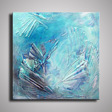 handmade oil painting on canvas modern Best Art Abstract oil painting original directly from artis abstract colorful texture oil painting on canvas 100