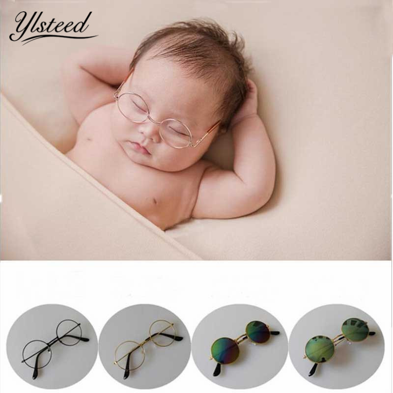 Hats & Caps Mother & Kids Newborn Photography Props Sunglass Baby Decorative Glasses Studio Infant Photo Shooting Props Photography Babies Accessories 2019 Official