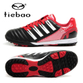 TIEBAO 2016 Professional TF Turf Rubber Soles Football Shoes Outdoor Soccer Shoes Top Quality Sneakers Free Shipping