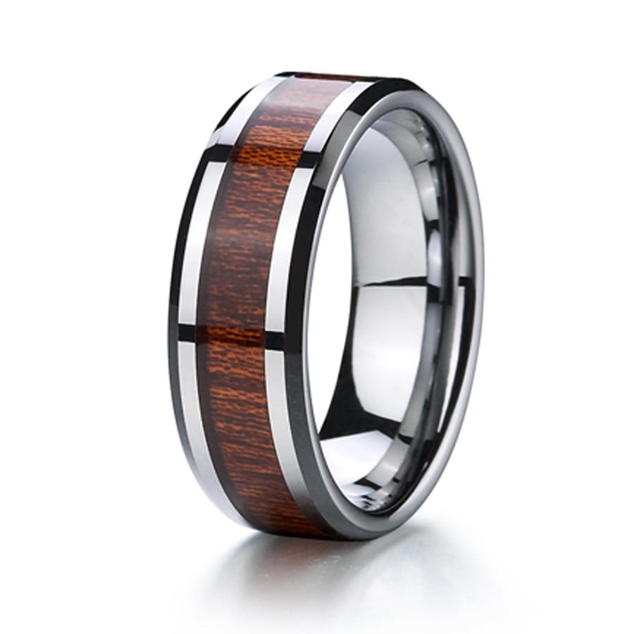 aliexpress buy titanium wood ring wedding band