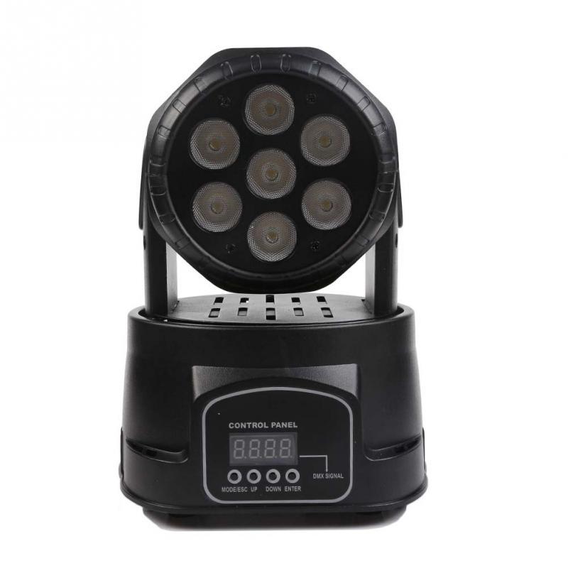 Mini LED Small Moving Head Light Stage Lighting DMX-512 DJ Disco Party Light