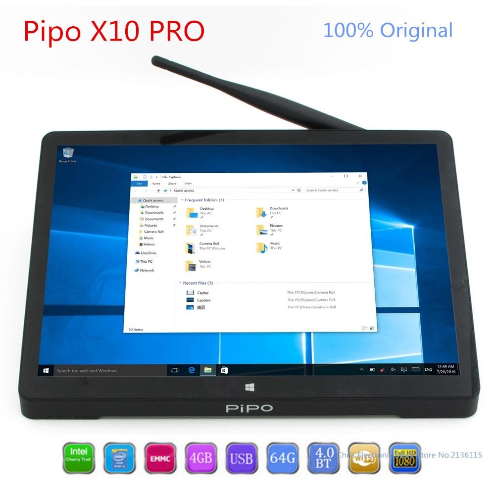 PiPo X10 Pro Mini PC Dual OS Android Finestre 10 MiniPC Andriod intel Z8350 Quad Core TV Box 4g 64g WiFi Pipo X10Pro Set Top Box