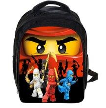 13 pulgadas lego batman ninja mochilas escolares para niños de kindergarten niños mochila escolar para niñas niños niños mochilas mochila