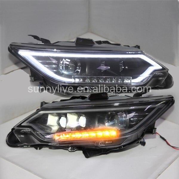 Для Toyota Camry V55 Camry 2014 Светодиодная лампа голову lf