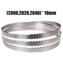 1pc (2000,2020,2040)*19*mm*4T Meat Band Saw Blades 2000mm 2020mm 2040mm Bone Blades Saw Blades For Meat Bone 1650 16 0 56mm 4tpi bone sawing machine band saw blade for food cutting lamb chops beefsteaks bones meat