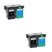 LuoCai Compatible ink cartridge For HP131 For HP 131 135 Deskjet 460 5743 5940 6843 6940 Photosmart 2573 2613 8753 PSC 1600 1613