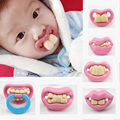 Funny pacifiers silicone baby pacifier safety pacifiers Teether Soother Novelty Dummy Dummies pacifier orthodontics baby feeding