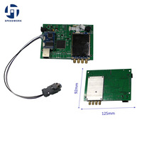 865-868 mhz 또는 902-928 mhz impinj r2000 rfid 모듈 4 안테나 포트 0-250 태그 rs232 rj45 + 무료 sdk + 무료 태그