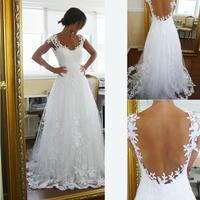 2018 Vintage Sheer A Line Cheap Bridal Gown Garden Beach High Quality Lace V Neck Plus Size Custom mother of the bride dresses