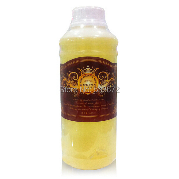 1KG Pure Grape Seed Base Oil Whole Body Massage Oils Scrapping Basal Hospital Equipment Whitening Pale Spot Anti-wrinkle 1000ML 1kg natural grape seed extract 95%proanthocyanidins grape seed opc