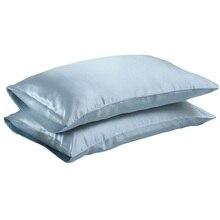 Высокое качество, Мягкая Наволочка из натурального шелкового атласа, Наволочка на стул, постельные принадлежности, Наволочка на подушку, квадратная наволочка для подушек, постельное белье, разноцветная 27