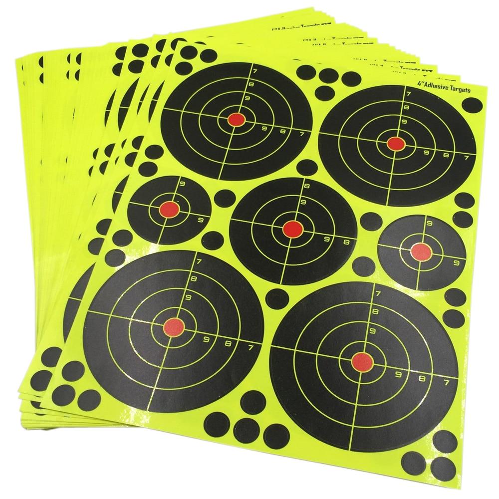 Air Rifle Shooting Targets 25 sheets/lot  Splatter blossom Targets 4