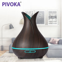 PIVOKA 400ML Air Aroma Humidifier Essential Oils For Aromatherapy Diffusers USB Charging Ultrasonic Fogger For Home