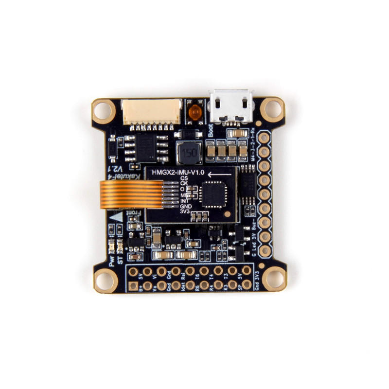 Holybro Kakute F4 V2 STM32F405 Полет контроллер с Betaflight OSD для RC Multirotor FPV Racing Drone