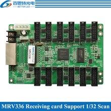 يعرض NOVASTAR MRV336 LED بطاقة الاستقبال ، وحدة التحكم في عرض الفيديو LED بالألوان الكاملة الخارجية والداخلية يدعم 1/32 المسح الضوئي
