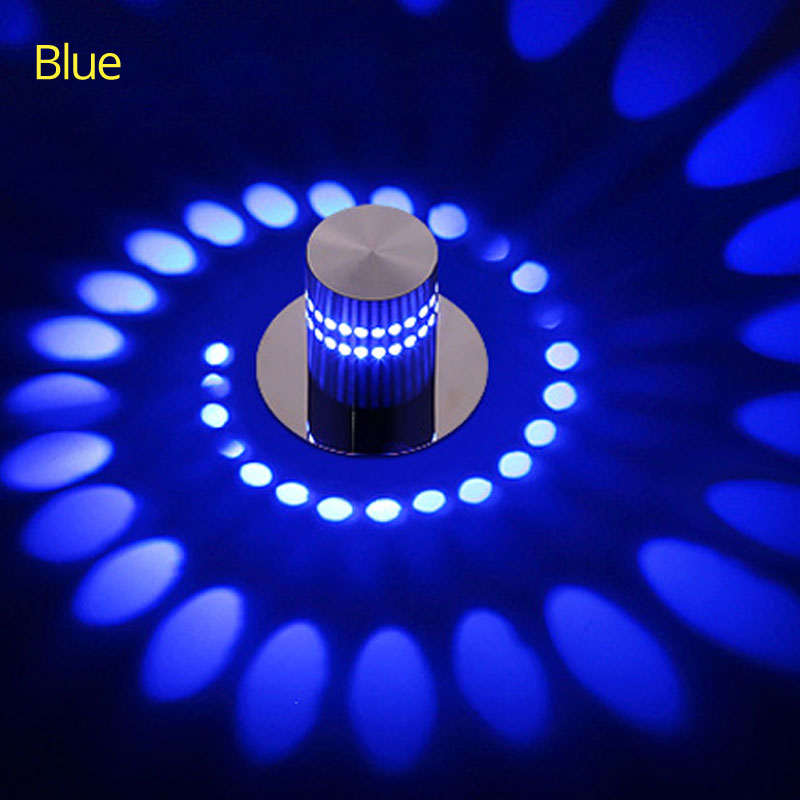 Decorative Lights | Fairy Lights | RGB Remote 3W 6W 9W 12W LED Ceiling Light RGB wall Sconce Art Gallery Decoration Front Balcony lamp Porch light corridors Light