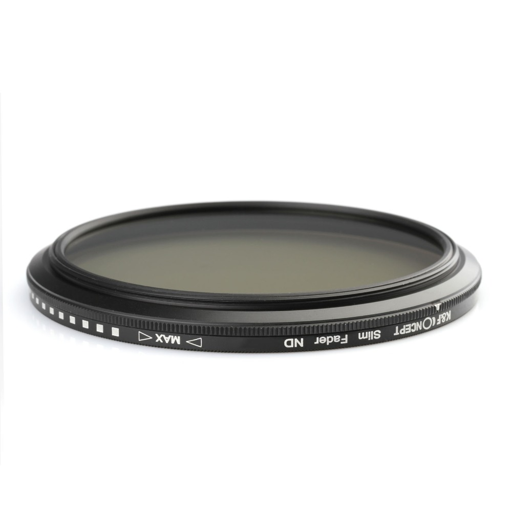 Image 4 - K&F CONCEPT 52MM 55MM 58MM 62MM 67MM 72MM 77MM Slim Fader Variable ND Lens Filter Adjustable ND2 to ND400 Neutral Density-in Camera Filters from Consumer Electronics