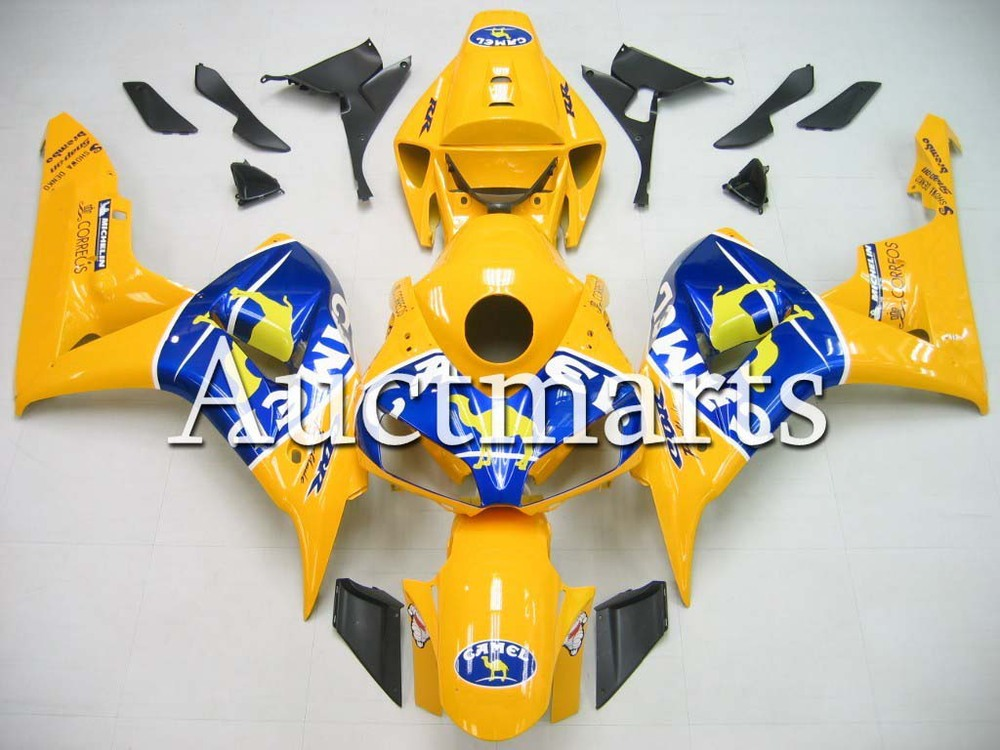 Fit for Honda CBR1000RR 2006 2007 CBR1000 RR ABS Plastic motorcycle Fairing Kit Bodywork CBR 1000RR 06 07 CBR 1000 RR EMS25 injection mold fairing for honda cbr1000rr cbr 1000 rr 2006 2007 cbr 1000rr 06 07 motorcycle fairings kit bodywork black paint