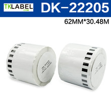 30 x Rolls Brother Compatible address Labels rolls dk22205 dk-22205 dk 22205 (Without Plastic Holder)(China)