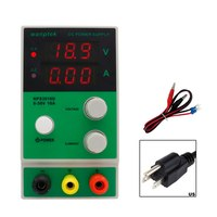 wanptek Power Supply Mini Adjustable Digital Display DC Switching Power Supply for LABS Schools and Production Lines