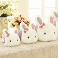 1pcs Cute lovers Papa rabbit pillow, butterfly rabbit plush toy doll, Valentine's Day gift to send girls children birthday gift