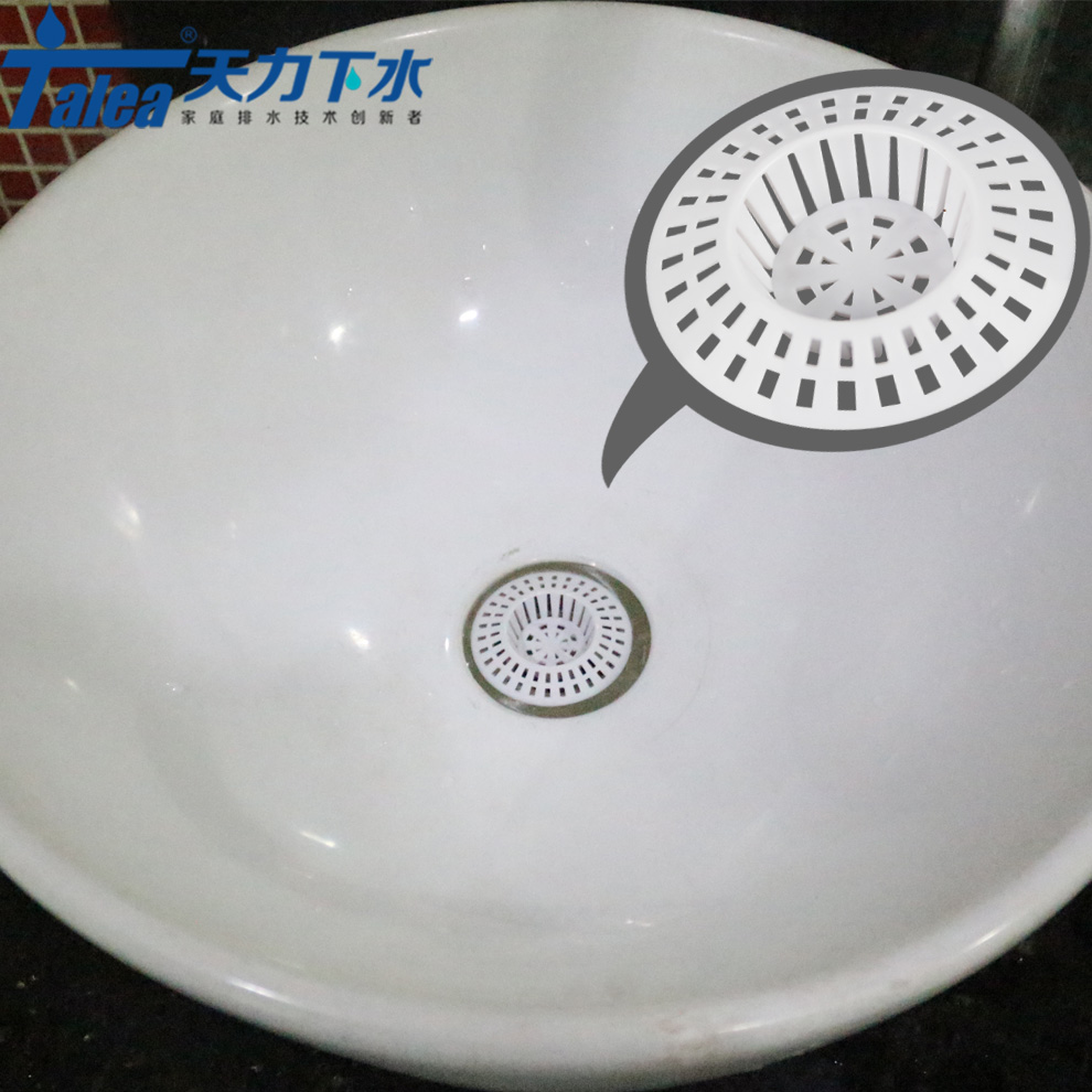 Talea White Bathroom Sink Plastic Strainer Filter Drain Kitchen Sink Filter Sewer Drain Hair Colanders Strainer Spacer Spacer Spacer Plastic Aliexpress