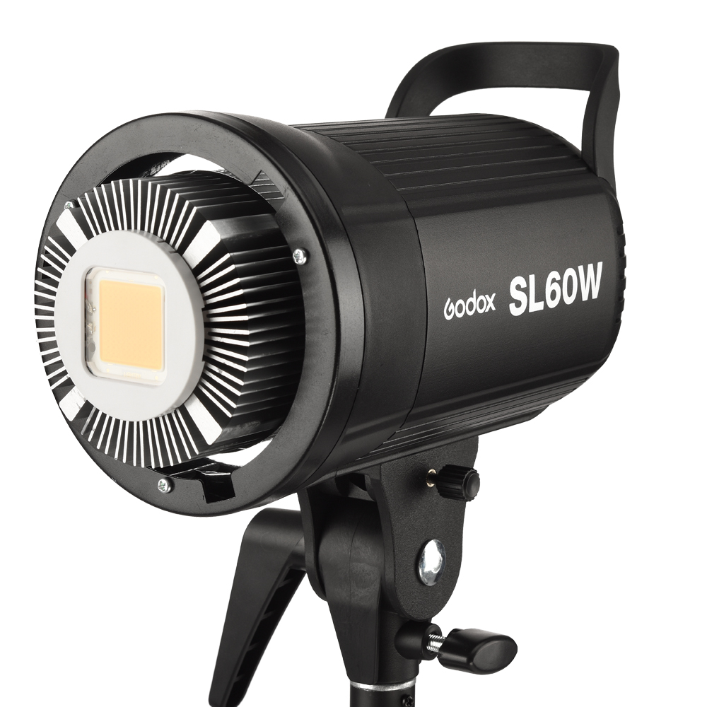 Free DHL !Godox SL-60W White Version LED Video Light Continuous Light Bowens Mount 5600K for Photography Studio Video Recording godox professional led video light led500w white version 5600k new arrival free shipping