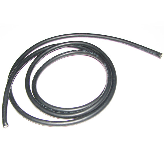 10Meter/lot Back Color Silicon Wire 16 AWG 16AWG Heatproof