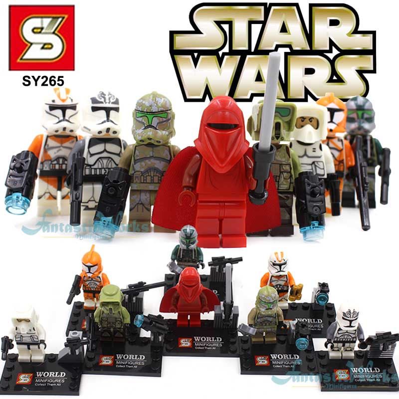 SY265 <font><b>Mini</b></font> <font><b>Star</b></font> <font><b>Wars</b></font> <font><b>Figures</b></font>,<font><b>Star</b></font> <font><b>Wars</b></font> <font><b>Clone</b></font> <font><b>Troopers</b></font> & Red Guard Blocks Minifigures ,Newest <font><b>Star</b></font> <font><b>Wars</b></font> Action <font><b>Figure</b></font> For Kids
