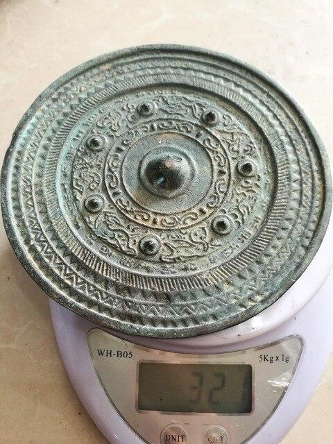 Spiegel Feng Shui oude collectie evil slayer bronzen spiegel feng shui bagua