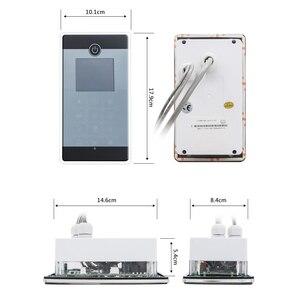 Image 2 - 1 takım (denetleyici + trafo + havalandırma fanı + hoparlör + ışık + ozon) dokunmatik ekran büyük LCD ekran serbest telefon duş kabini
