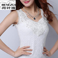 Tank top Women Fittness Elegant Flower Embroidery Lace Vest 2016 New Fashion Summer Tube Top Sleeveless Shirt Clothing For Lady