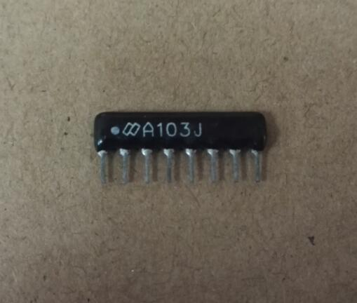 50 PCS Resistor Network A05-102 1K ohm 4 Commoned Resistor Network Array 5 PIN