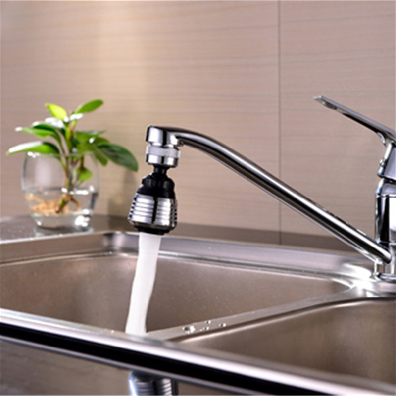 Kitchen Faucets With Sprayer Pendant Light Fixtures For Island Chrome Finish External Thread Faucet Attachment Bidet Aerator Female Water Saving