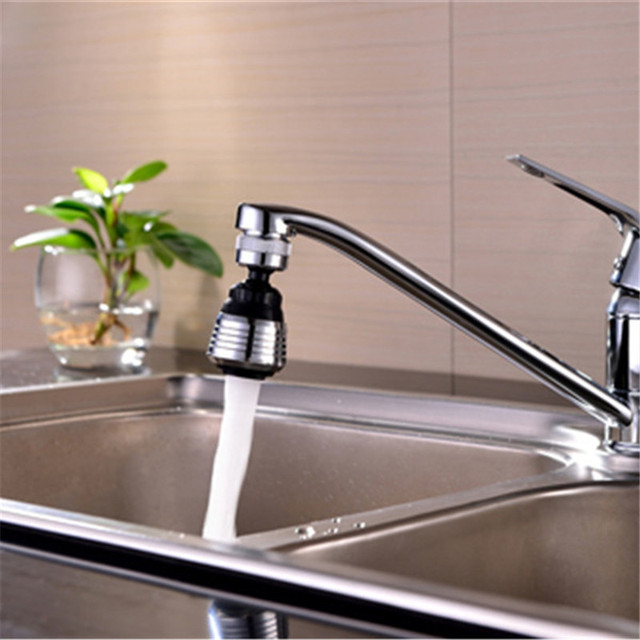 Chrome Finish External Thread Kitchen Faucet Sprayer