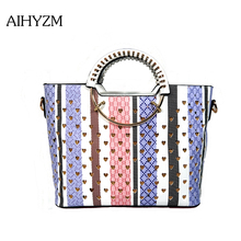 AIHYZM Brand Handbag High Quality Women Bags Designer Hollow Out Women Bag Pu Leather Crossbody Bags  Women Shoulder Bags